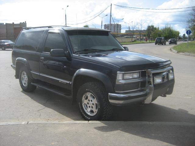 Chevrolet Tahoe 5.7 1995 photo - 8