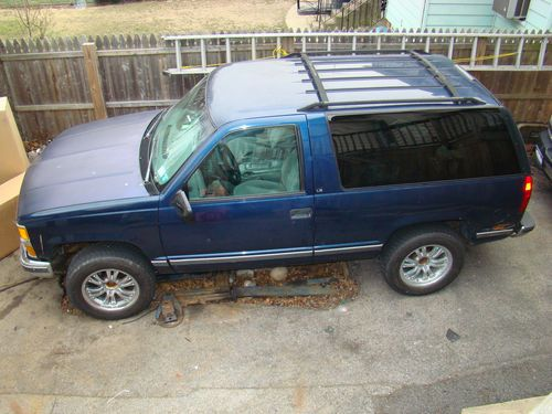 Chevrolet Tahoe 6.5 1995 photo - 1