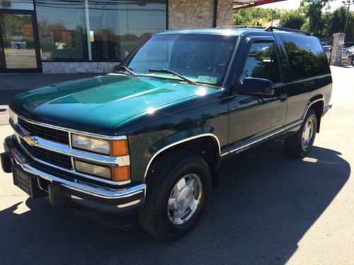 Chevrolet Tahoe 6.5 1995 photo - 2