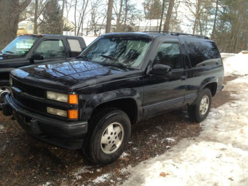 Chevrolet Tahoe 6.5 1995 photo - 3