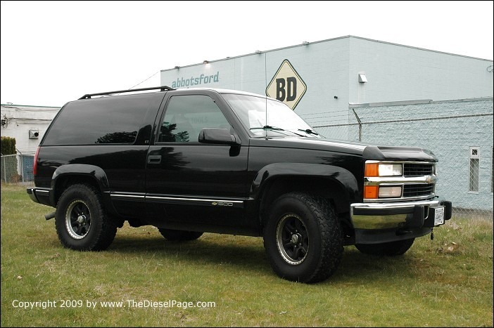Chevrolet Tahoe 6.5 1995 photo - 8