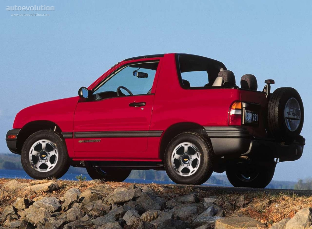 Chevrolet Tracker 1.6 2002 photo - 5