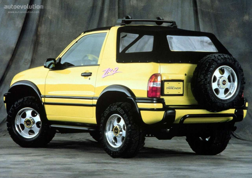 Chevrolet Tracker 1.6 2002 photo - 7