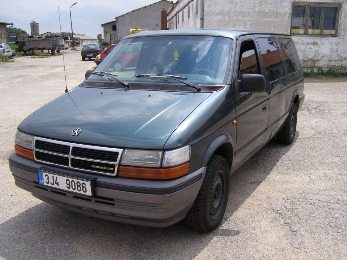 Chrysler Grand Voyager 3.8 1995 photo - 2