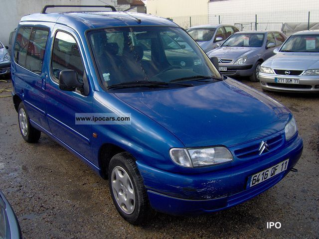 Citroen Berlingo 1.6 1998 photo - 4