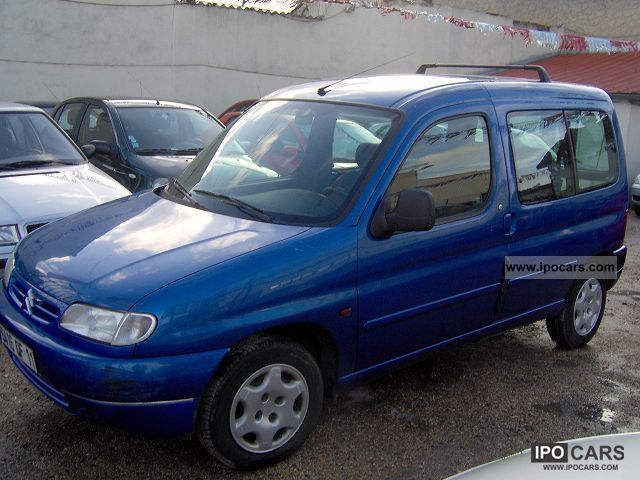 Citroen Berlingo 1.6 1998 photo - 5