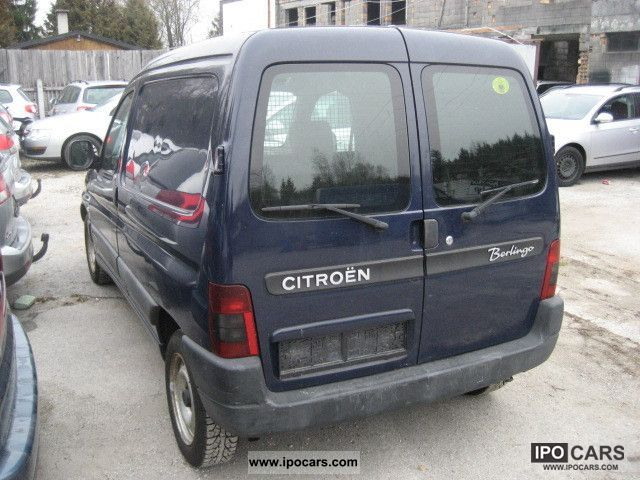 Citroen Berlingo 1.9 2004 photo - 9