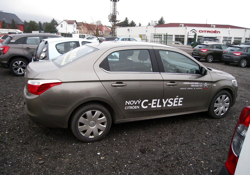 Citroen C-Elysee 1.6 2012 photo - 10