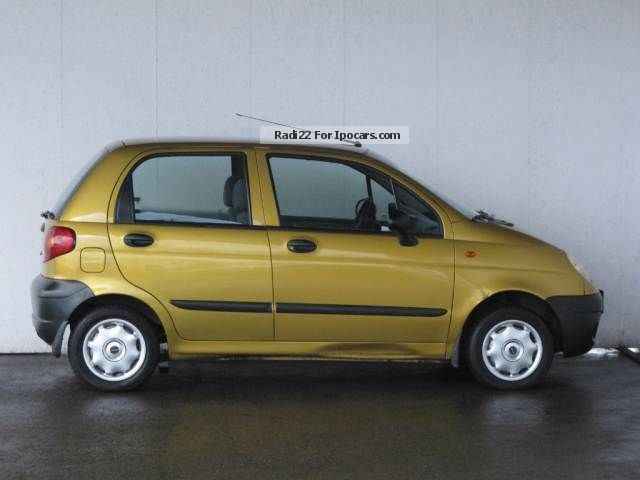 Daewoo Matiz 0.8 2002 photo - 1