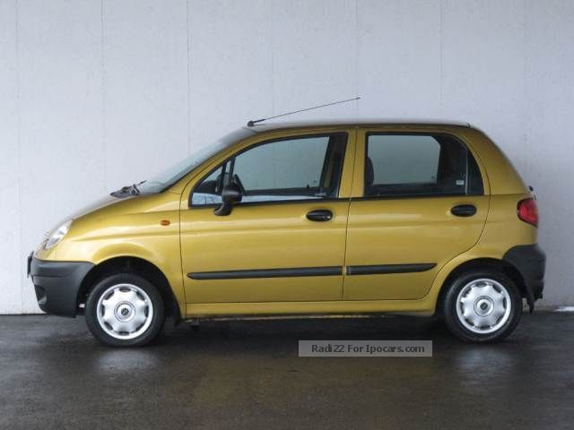 Daewoo Matiz 0.8 2002 photo - 3