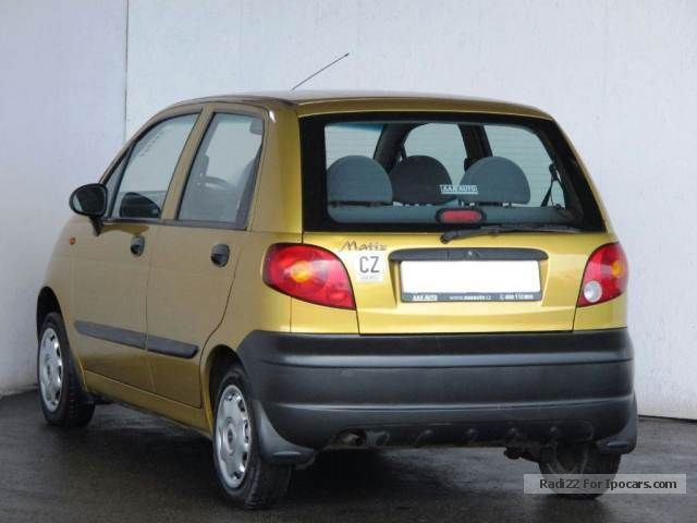 Daewoo Matiz 0.8 2002 photo - 8