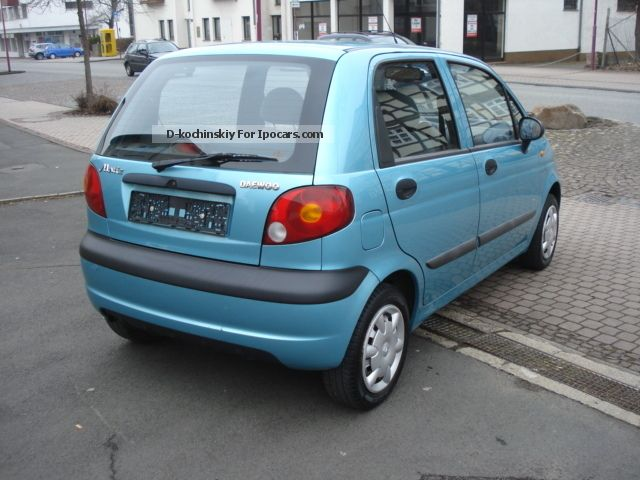 Daewoo Matiz 0.8 2005 photo - 3