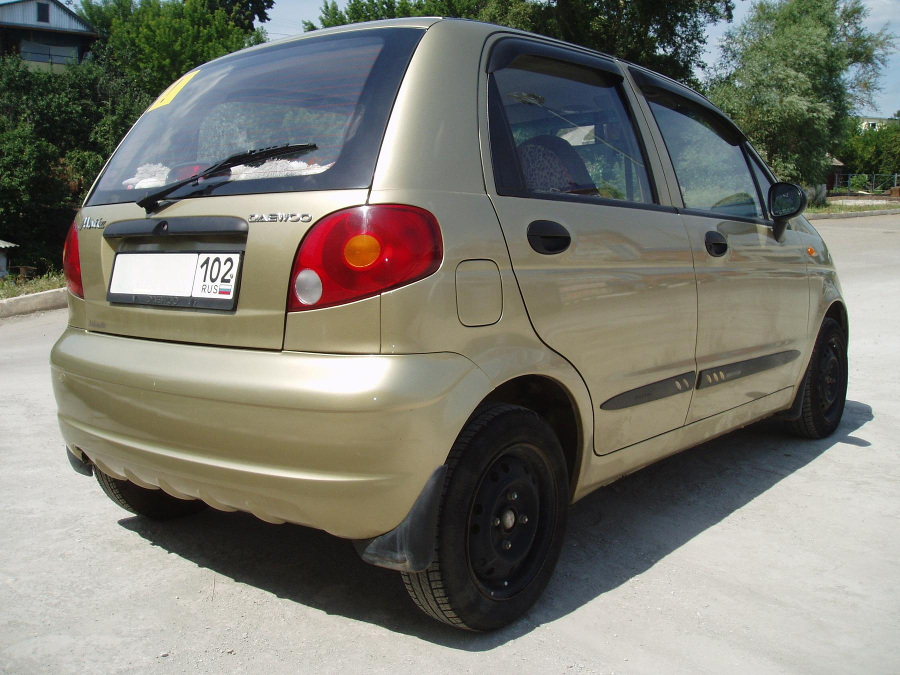 Daewoo Matiz 0.8 2007 photo - 1