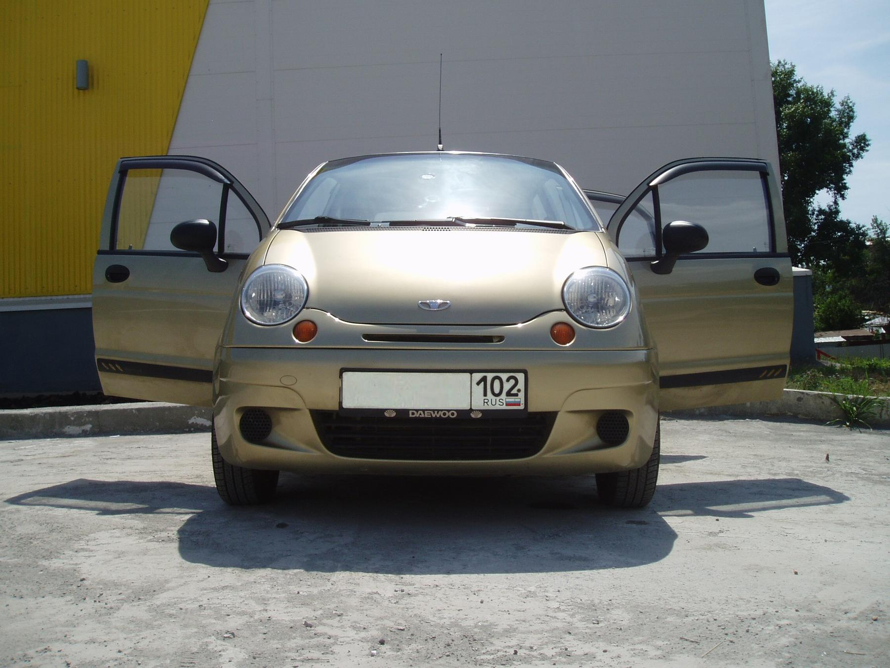 Daewoo Matiz 0.8 2007 photo - 2