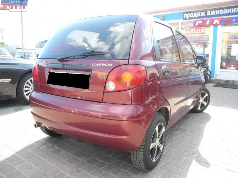 Daewoo Matiz 0.8 2007 photo - 3