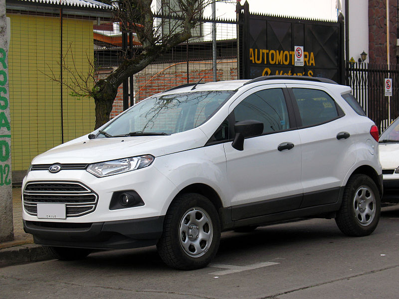 Ford EcoSport 1.6 2013 photo - 4