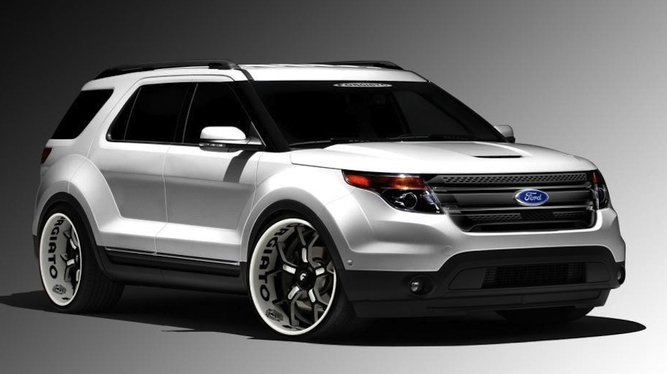 Ford Explorer 3.5 2012 photo - 7