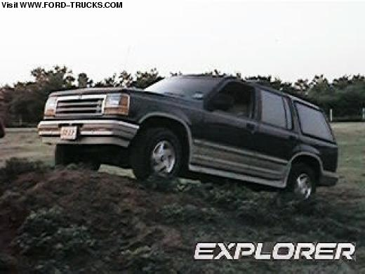 Ford Explorer 4.0 1992 photo - 2
