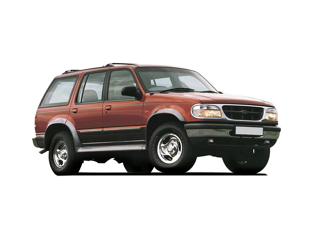Curb Weight Vs Gross Weight >> Ford Explorer 4.0 1997 – Technical specifications
