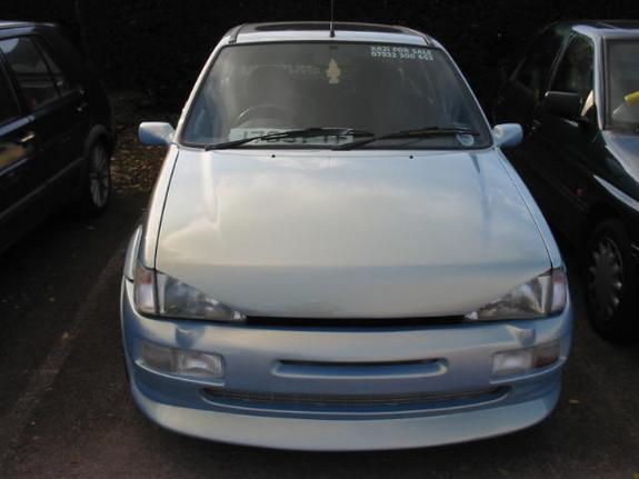 Ford Fiesta 1.0 1988 photo - 7