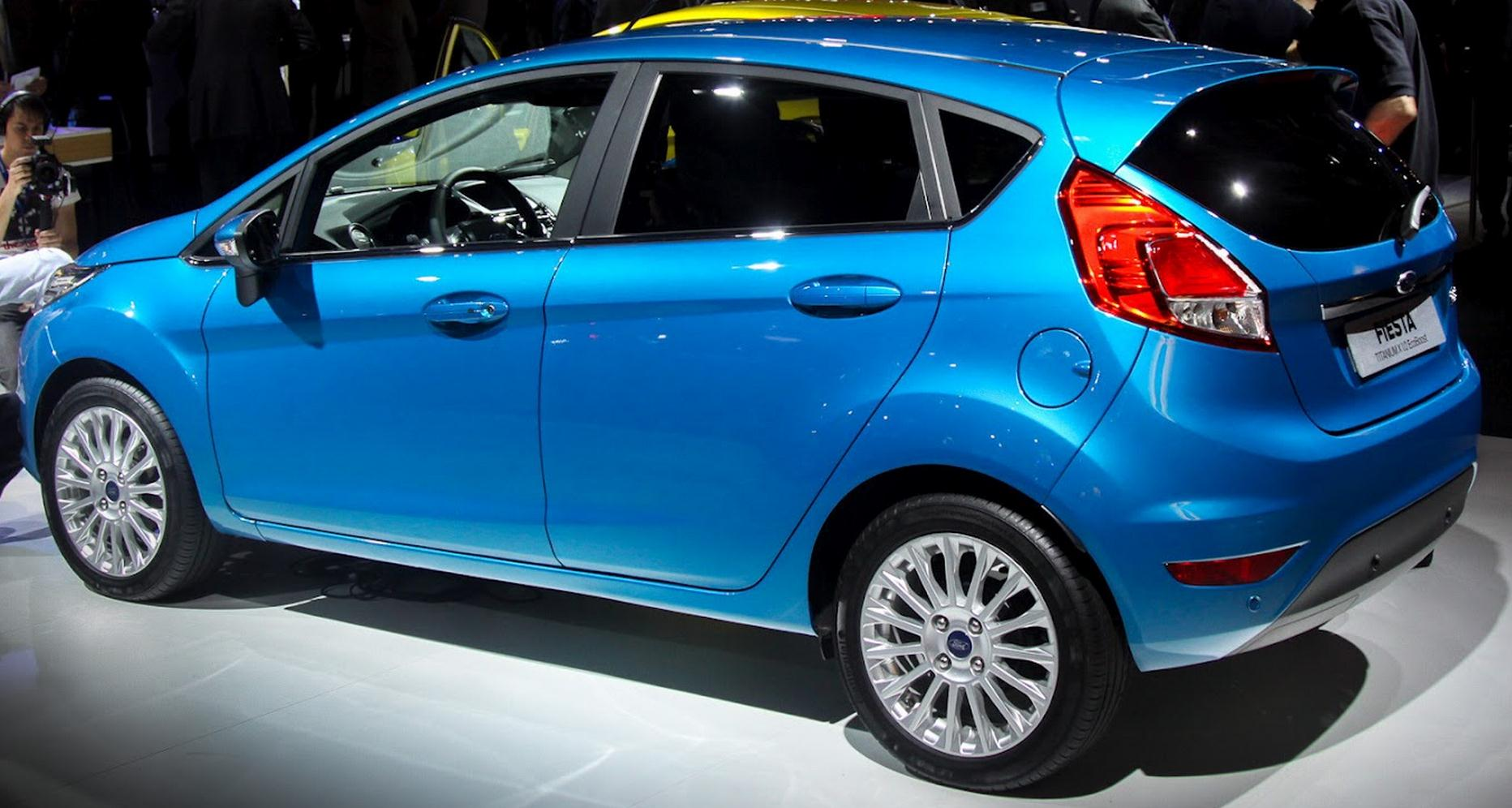 Ford Fiesta 1.0 2012 photo - 1