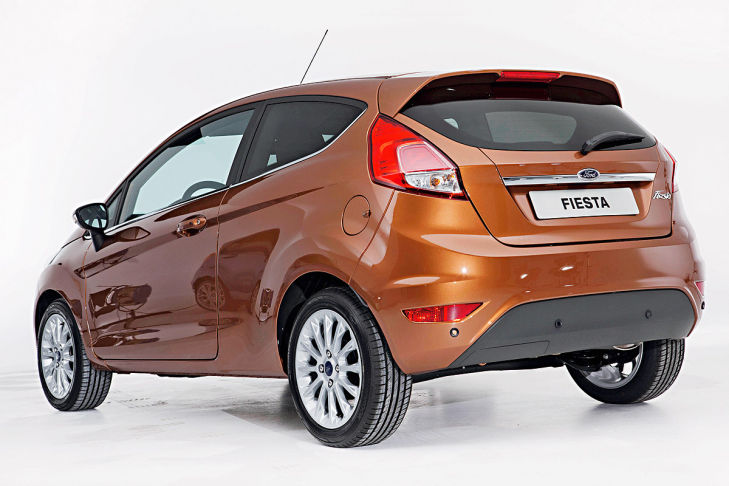 Ford Fiesta 1.0 2012 photo - 8