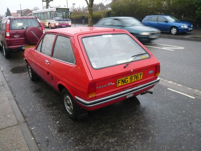 Ford Fiesta 1.1 1979 photo - 2
