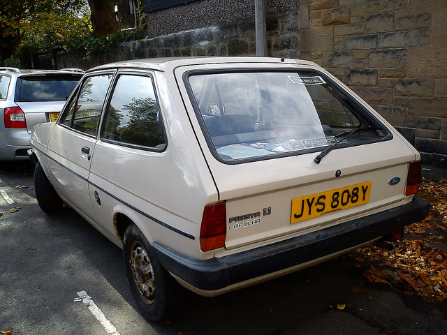 Ford Fiesta 1.1 1982 photo - 2