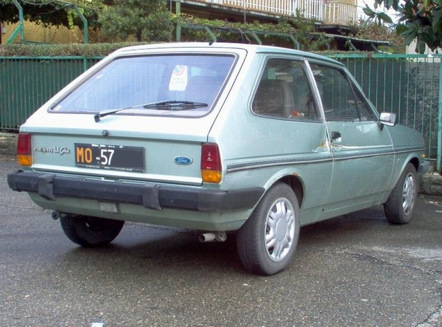 Ford Fiesta 1.1 1982 photo - 3
