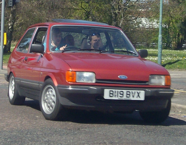Ford Fiesta 1.1 1985 photo - 2