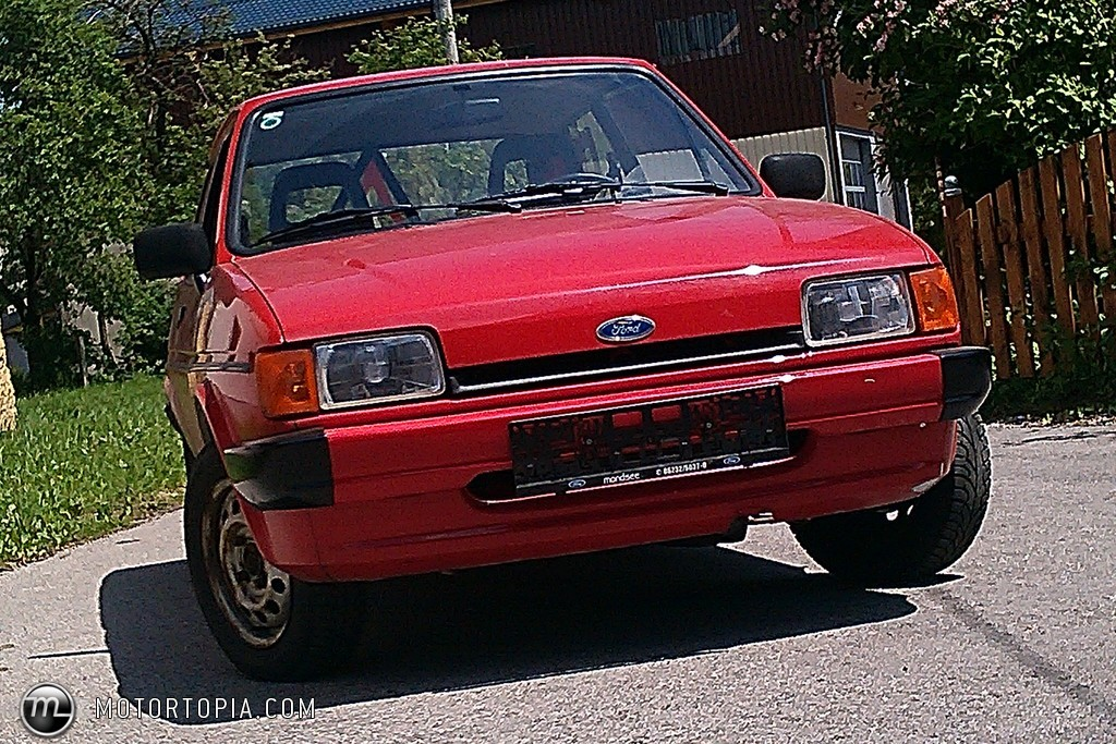 Ford Fiesta 1.1 1985 photo - 8