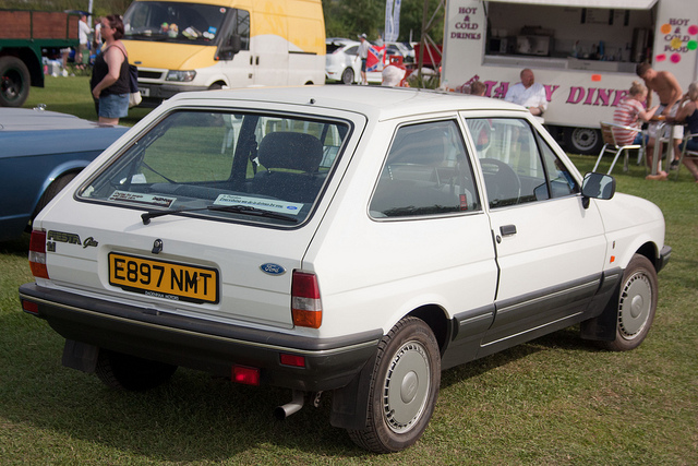 Ford Fiesta 1.1 1987 photo - 1