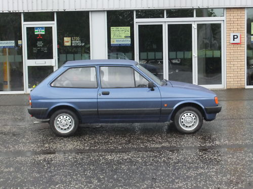Ford Fiesta 1.1 1987 photo - 7