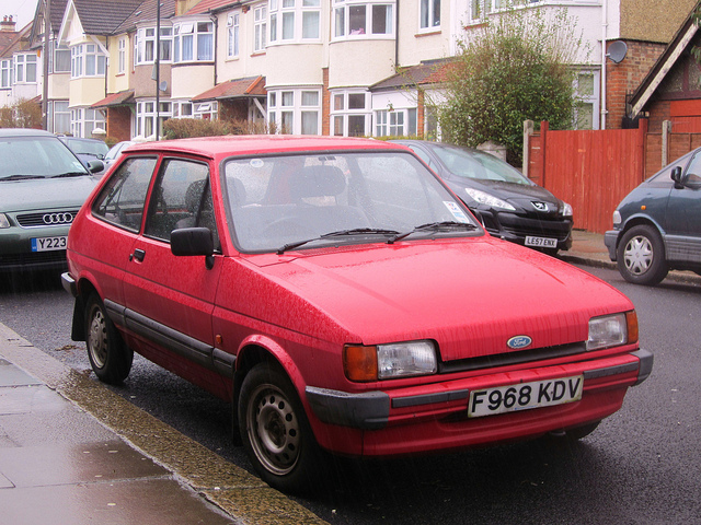 Ford Fiesta 1.1 1989 photo - 10