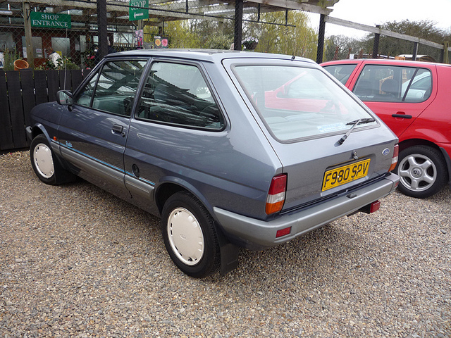 Ford Fiesta 1.1 1989 photo - 2