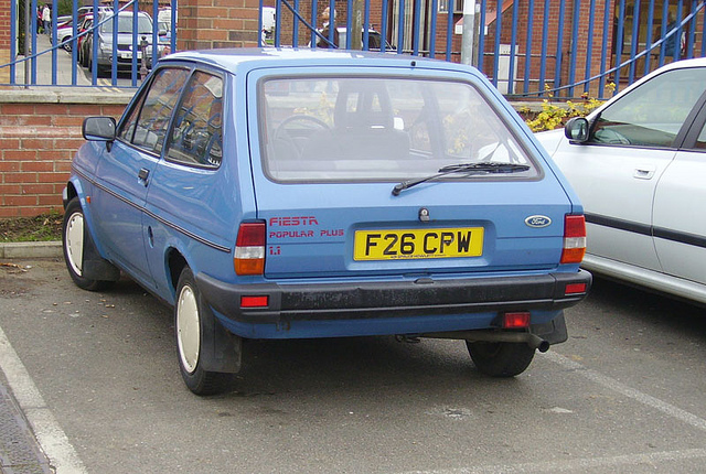 Ford Fiesta 1.1 1989 photo - 9