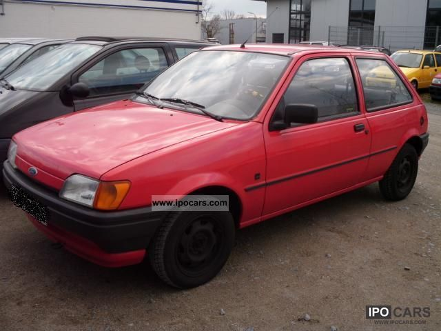 Ford Fiesta 1.1 1992 photo - 6