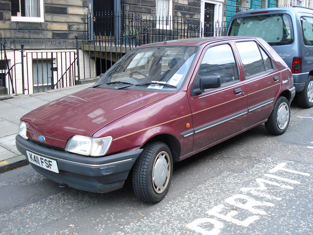 Ford Fiesta 1.1 1993 photo - 1