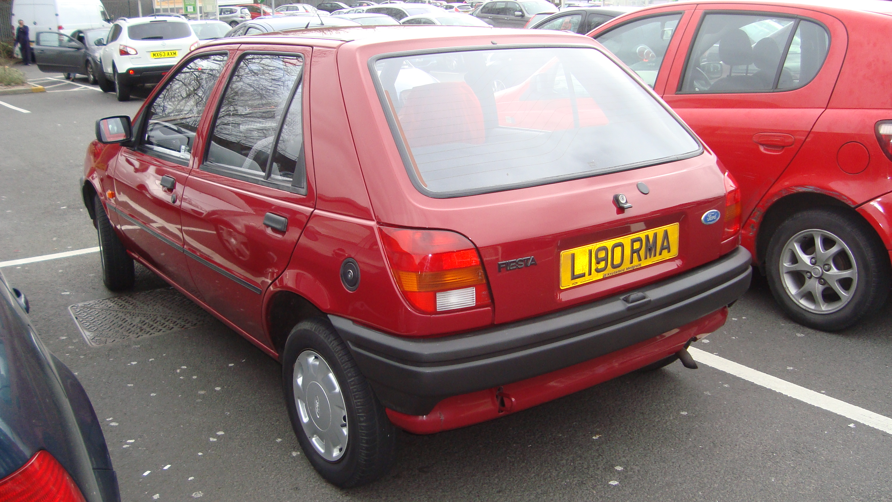 Ford Fiesta 1.1 1993 photo - 12