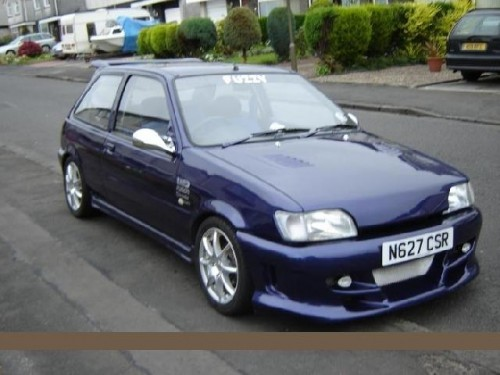Ford Fiesta 1.1 1995 photo - 11