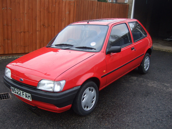 Ford Fiesta 1.1 1995 photo - 8