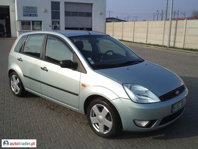 Ford Fiesta 1.25 2003 photo - 8