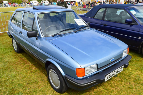Ford Fiesta 1.3 1984 photo - 5