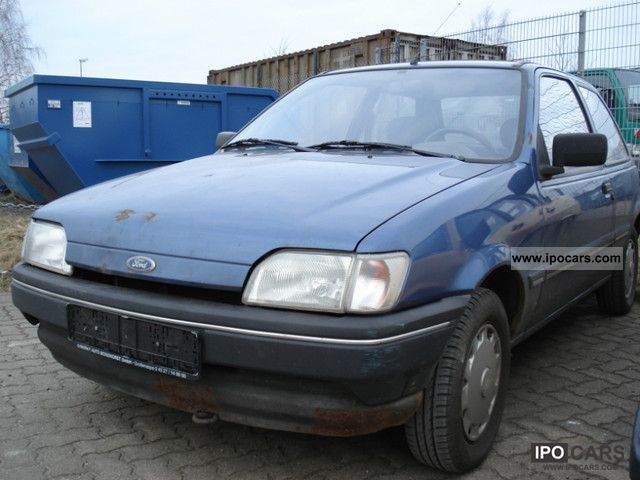 Ford Fiesta 1.3 1992 photo - 6