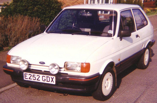 Ford Fiesta 1.4 1984 photo - 10