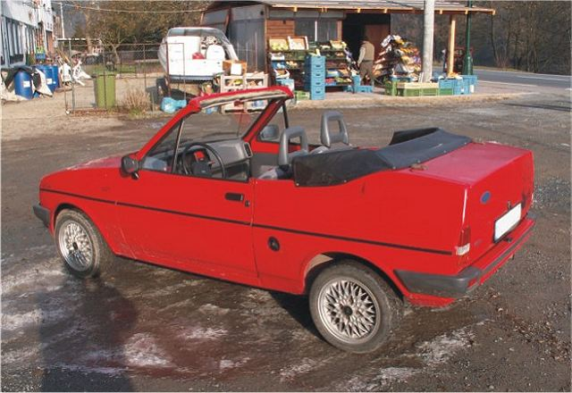 Ford Fiesta 1.4 1988 photo - 6