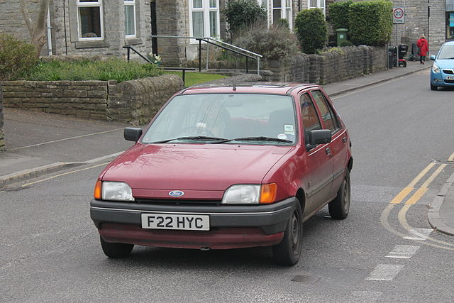 Ford Fiesta 1.4 1989 photo - 12