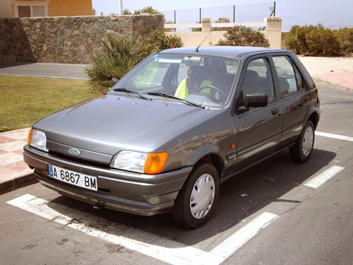 Ford Fiesta 1.4 1989 photo - 6
