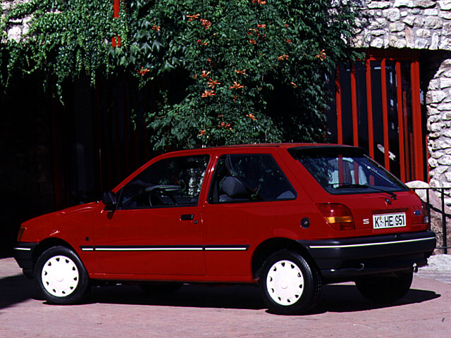 Ford Fiesta 1.4 1989 photo - 8
