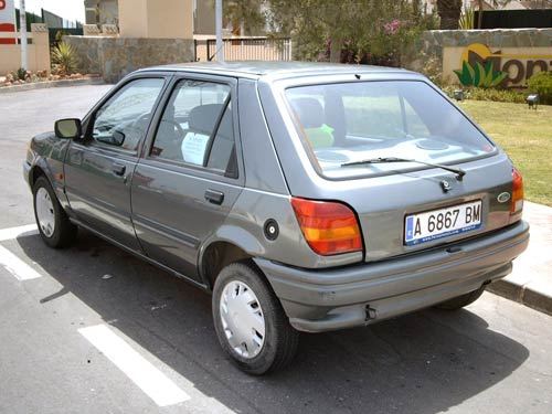 Ford Fiesta 1.4 1989 photo - 9